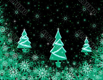 Abstraction Christmas background
