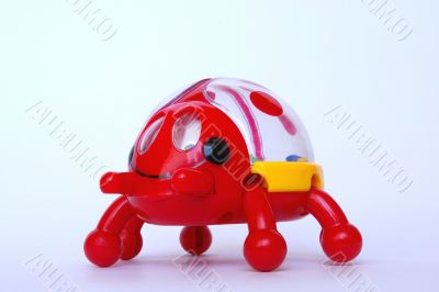 red, small, toy,