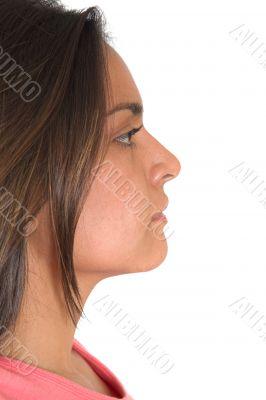 beautiful latin american profile