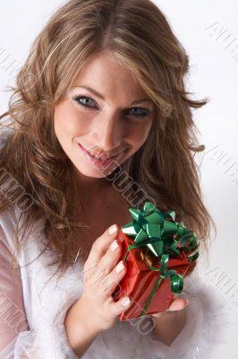 fragile christmas present
