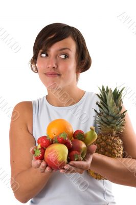 Life healthy, eat more fruit