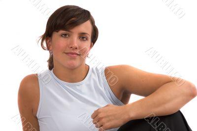 Sporty looking girl