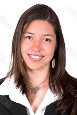 attractive business woman portrait
