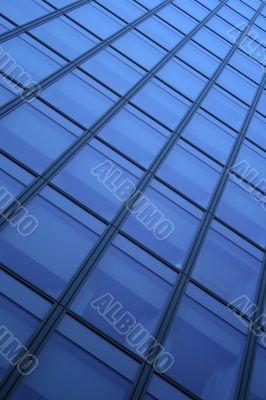 Blue windows background