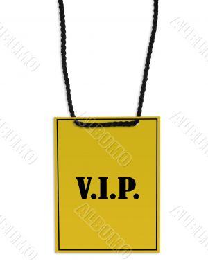 V.I.P. backstage pass