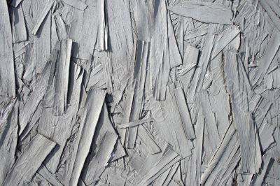 Gray painted peeling wood texture