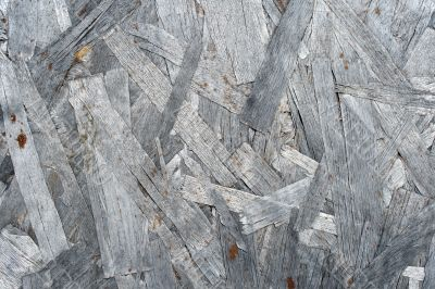 Silver-gray wood chipboard texture
