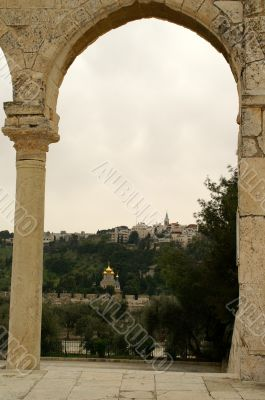 A view from Temple mount