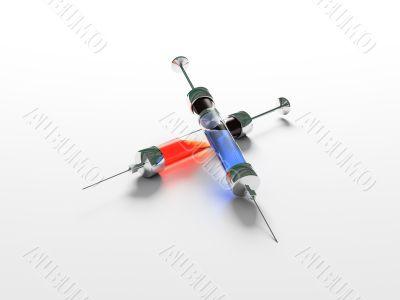 Syringe,medicine