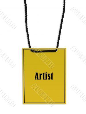 Artist stage pass