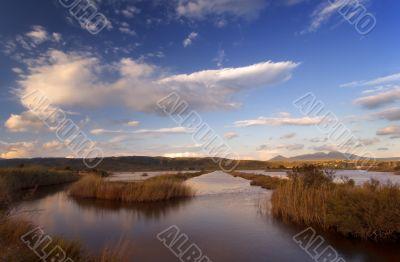 The lake in Yalova, southern Greece