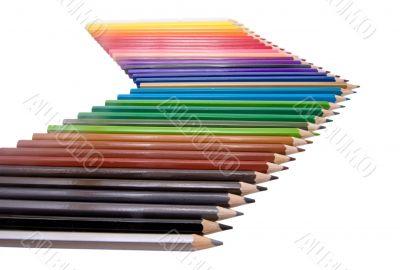 color pencil arrow