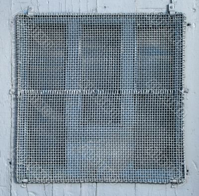 Painted wire mesh