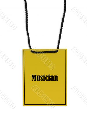 Musician stage pass