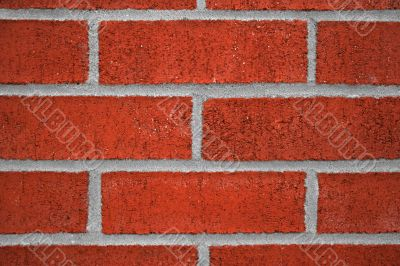 Red brick and cement