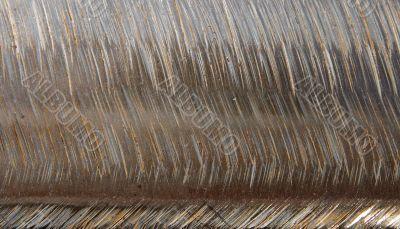 Scratched metallic texture