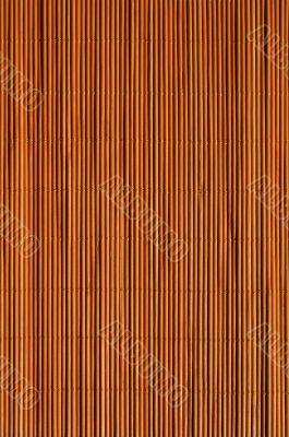 Orange rattan mat texture