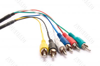 RCA audio and video cables
