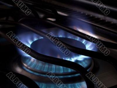 Stove flames 2