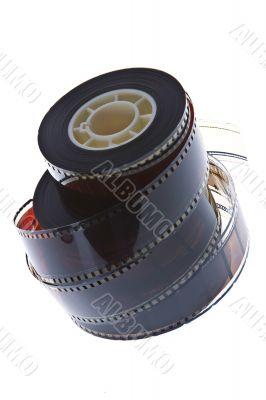 35 mm film reels vertical