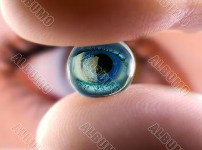 Ball of the eye 2