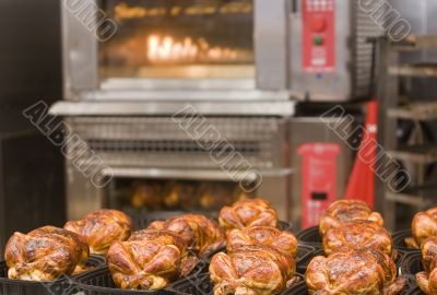 Roast Chickens and Oven