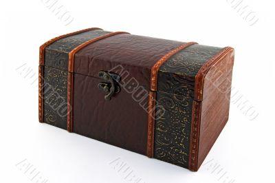 Retro style treasure chest