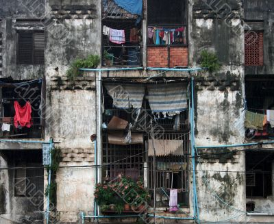 Residential building in Phnom Penh