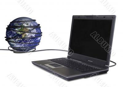 communications worlwide - laptop