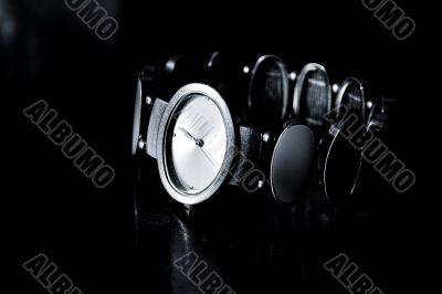 watch on black