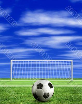 football - penalty kick