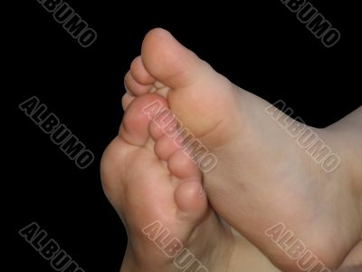 Bare Baby Feet