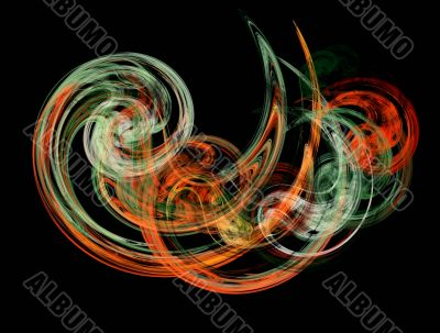 abstract and colored background