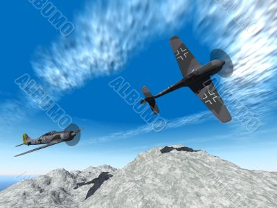 second world war planes attack