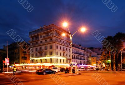Downtown Cannes, France