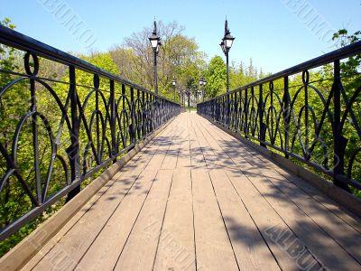 bridge in distance