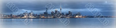 New Zealand - Auckland City - Panoramic