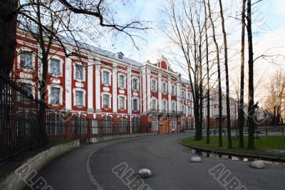 The building of St.Petersburg State University, Russia