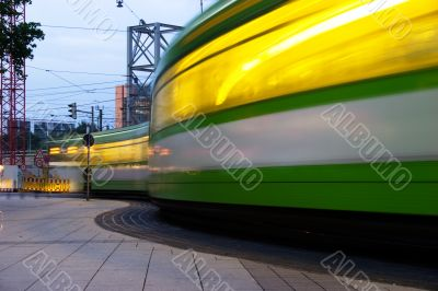 Tram traffic lights