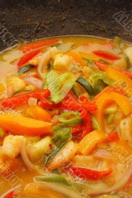 thai lime curry