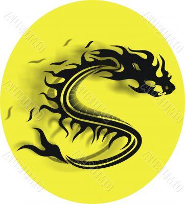 vector dragon