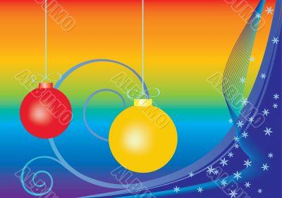 christmas background ,vector illustration