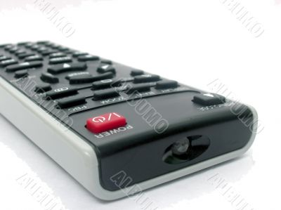 TV or DVD remote with ON/OFFbutton