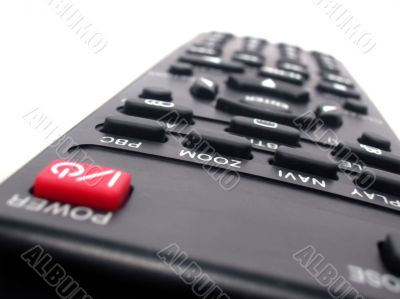 TV or DVD player remote control