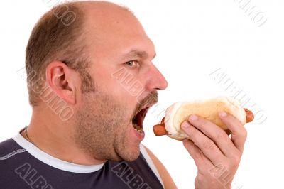 Hotdog lover