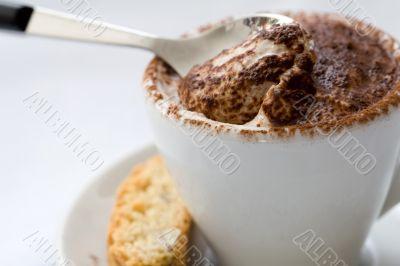 Delicious creamy dessert