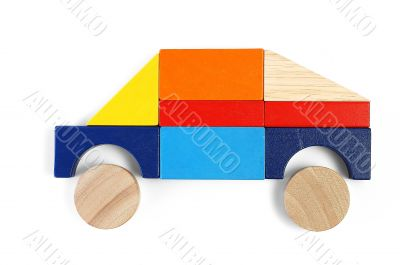 Baby blocks figure - SUV