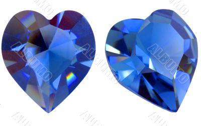 Heart shaped gem