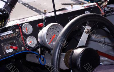 Inside Racecar