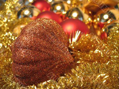 Bronze christmas toy